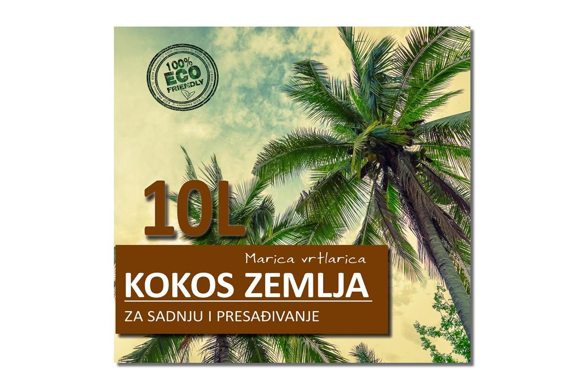 KOKOS ZEMLJA 10L