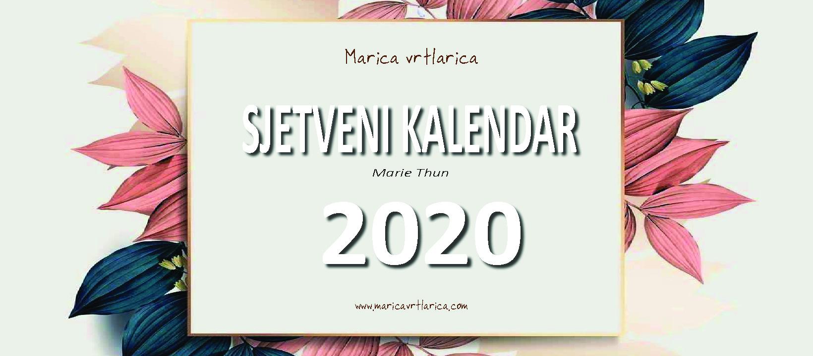 2020 Sjetveni kalendar