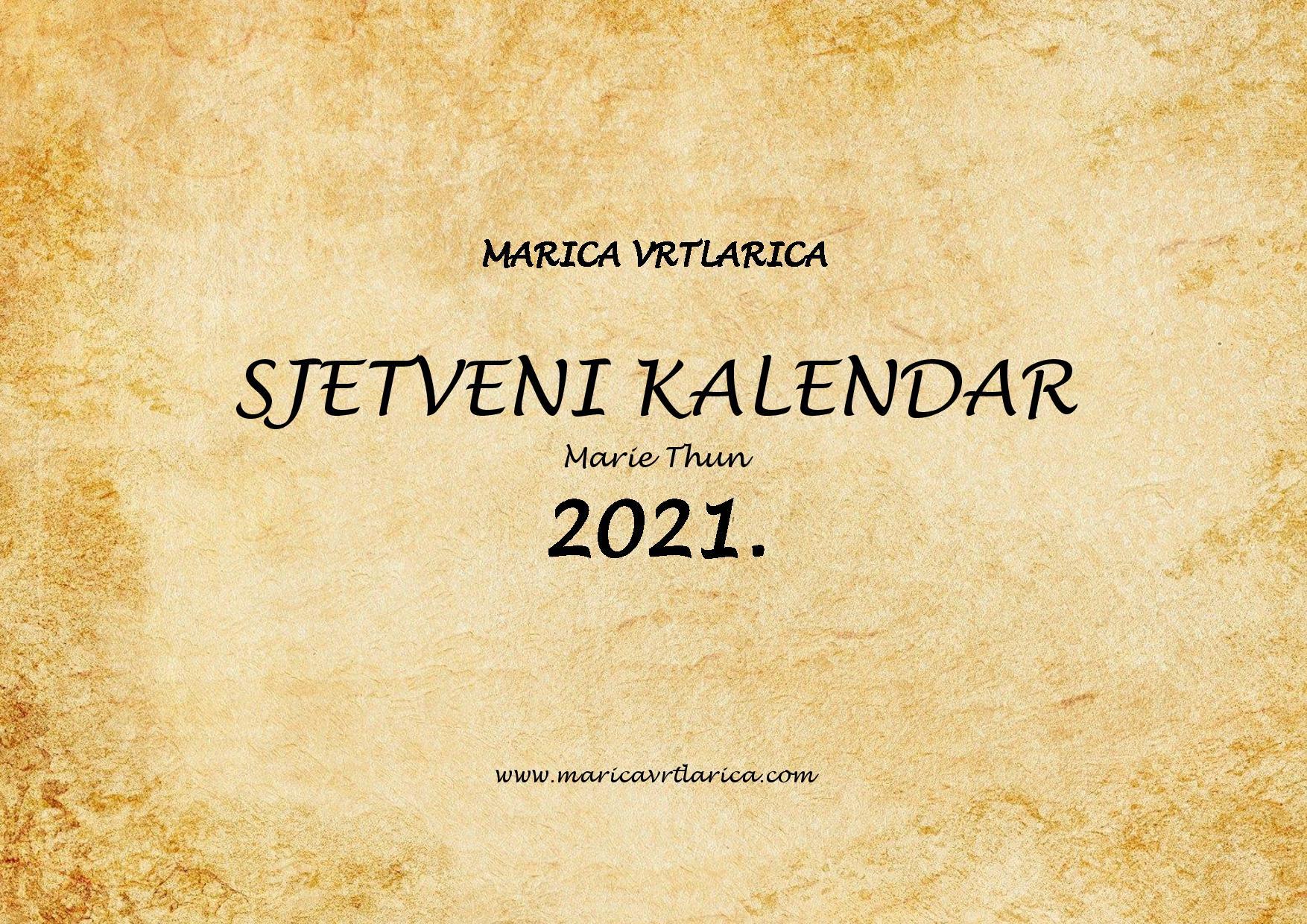 2021 Sjetveni kalendar